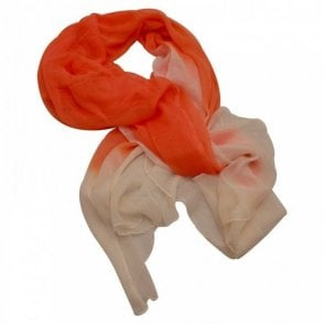 Orange Army 2 Tone Scarf