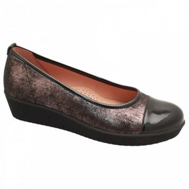 Orient Low Wedge Ballet Pump