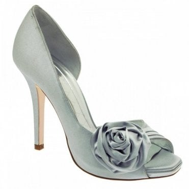 P/toe Satin Rosette Court