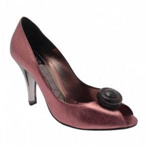 P/toe With Smokey Glass Heel