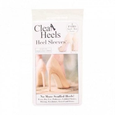Pack Of Three Clear Heel Sleeves