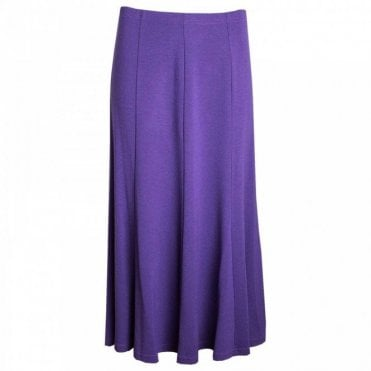 Panel Skirt With Elasticated Waist