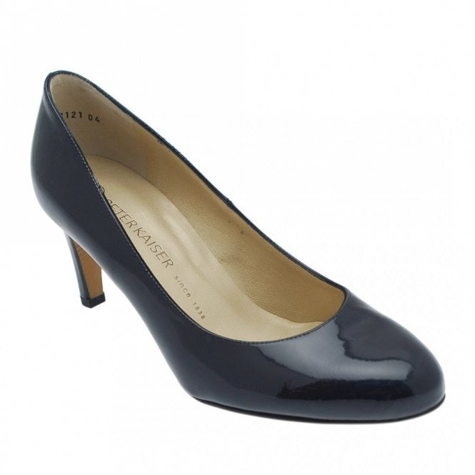 Peter Kaiser Patent Leather Classic Heeled Court Shoe
