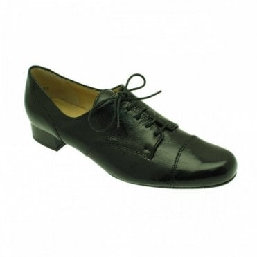 Patent Leather Lace Up Brogues
