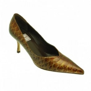 Patent Python Skin Effect Court Shoe