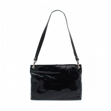 Patent Shoulder Strap Handbag