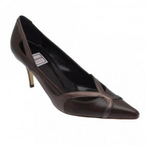 Renata Patterne High Heel Court Shoe