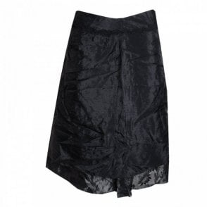 La Strada Patterned Drop Lining Knee Length Skirt