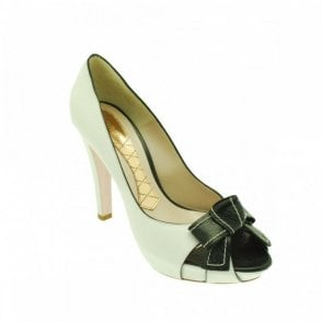 Peep Toe Platform High Heel Court Shoes