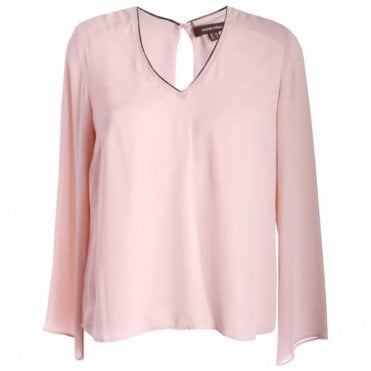 Pink Cadillac Long Sleeve Blouse