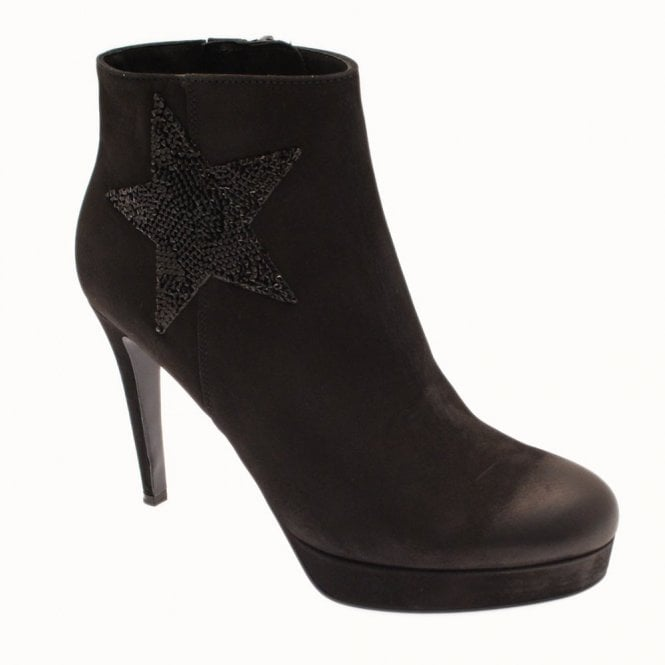 Kennel Und Schmenger Platform Ankle Boot With Star