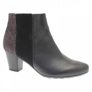 Poole Block Heel Ankle Boot