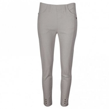 Laurie Pull On Straight Leg Stretch Trousers