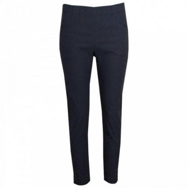 Pull On Straight Leg Stretch Trousers