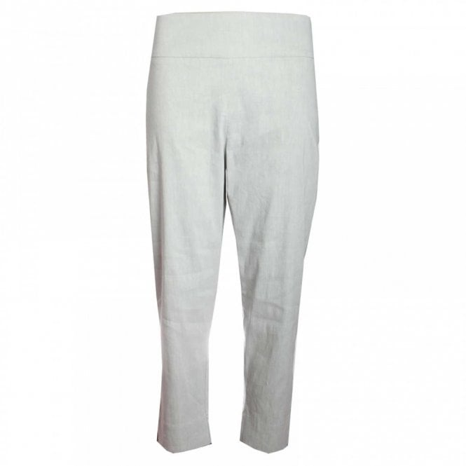 Crea Concept Pull On Stretch Cropped Trousers