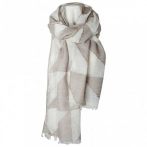 Bcharmd Pyramin Cross Long Scarf