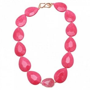Quartzite Chunky Stone Short Necklace