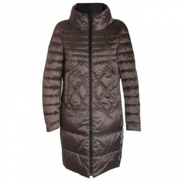 Reversable Padded Long Coat