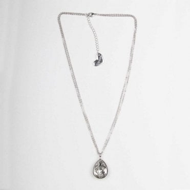 Reversible Diamante Pendant Necklace