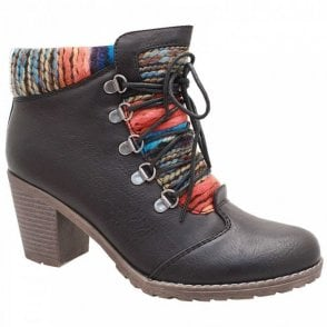 Caledonia Lace Up Ankle Boot