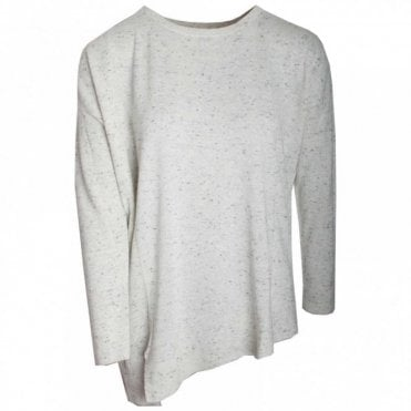 Round Neck Long Sleeve Fine Knit Jumper