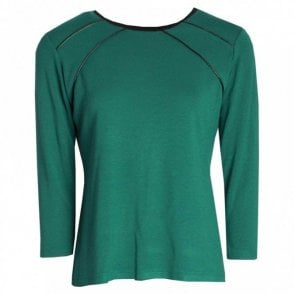 Round Neck Long Sleeve Plain Top