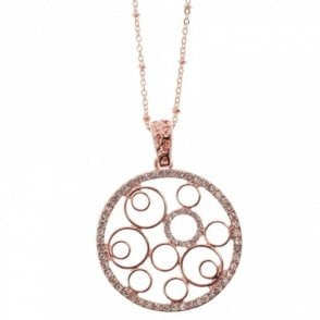 Round Open Work Necklace