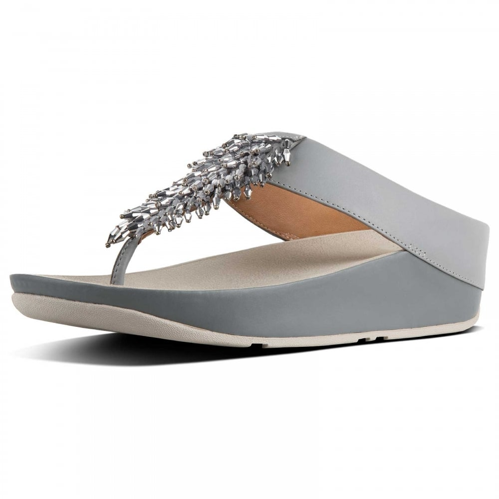 Rumba™ Toe Thong Sandals - Crystal By