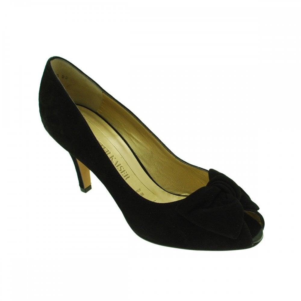 premium selection df86d a4d51 Samos Peep Toe High Heel Court Shoes