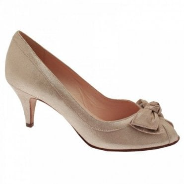 Satyr Peep Toe High Heel Court Shoe