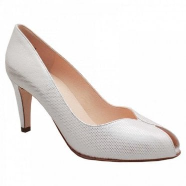 Peter Kaiser Sevilia Peep Toe High Heel Court Shoe
