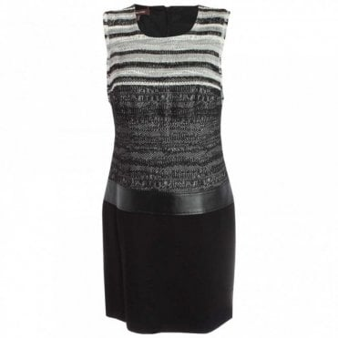 Shades Of Grey Tweed Shift Dress