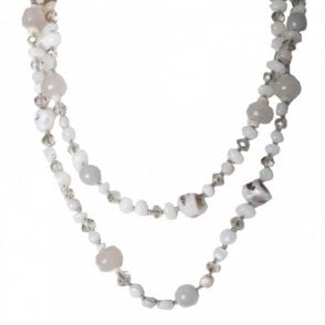 Shell & Semi Precious Stone Necklace