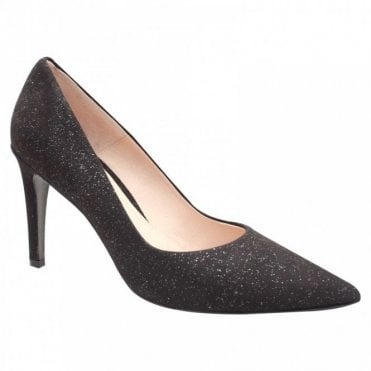 Shimmering Suede High Heel Court Shoe