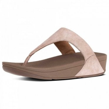 Shimmy™ Suede Toe-post Sandal