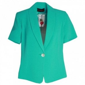 Short Sleeve Dress Jacket