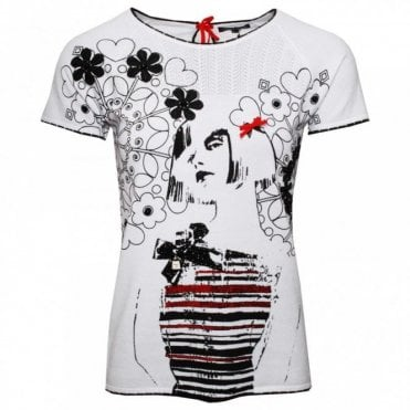 Short Sleeve Fashion Design Print Tshirt