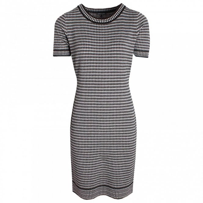 Leo Guy Short Sleeve Knitted Dress