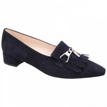 Silja Low Heel Pointed Toe Court Shoe