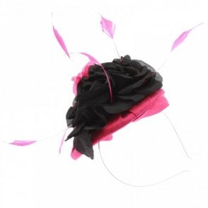 Silk Pillbox Style Fascinator