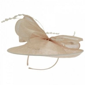 Failsworth Sinamay Disc Woven Fascinator