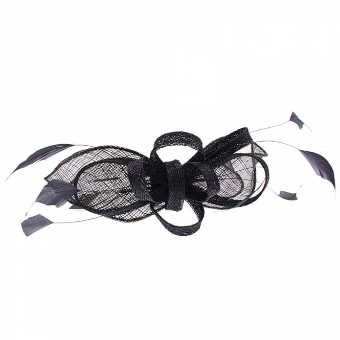 Failsworth Sinamay Headband Woven Bow Fascinator