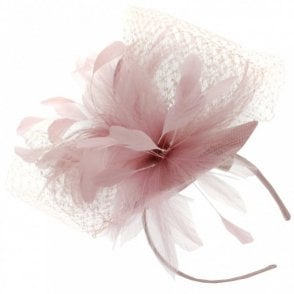 Sinamay Pillbox Style Fascinator