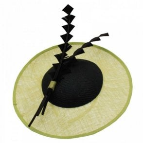 Failsworth Sinamay Woven Disc Fascinator