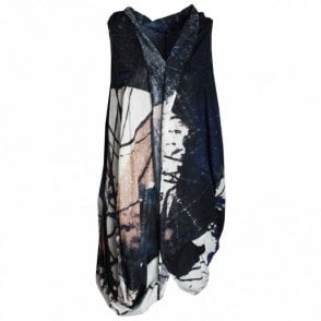 Crea Concept Sleeveless Abstract Print Tunic