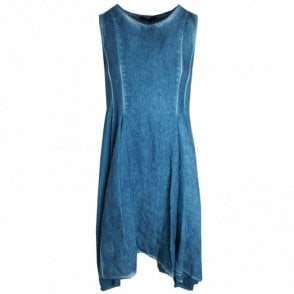 Sleeveless Denim Sun Dress