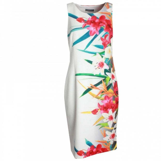 Michaela Louisa Sleeveless Foral Print Dress