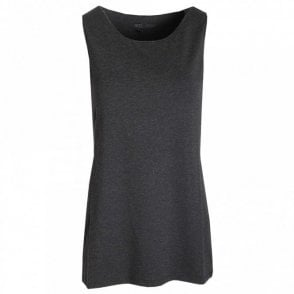 Sleeveless Long Length Vest Top