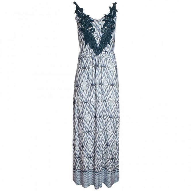 Leo Guy Sleeveless Printed Maxi Dress