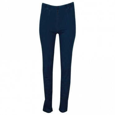 Laurie Slim Fit Blue Denim Stretch Jeggings